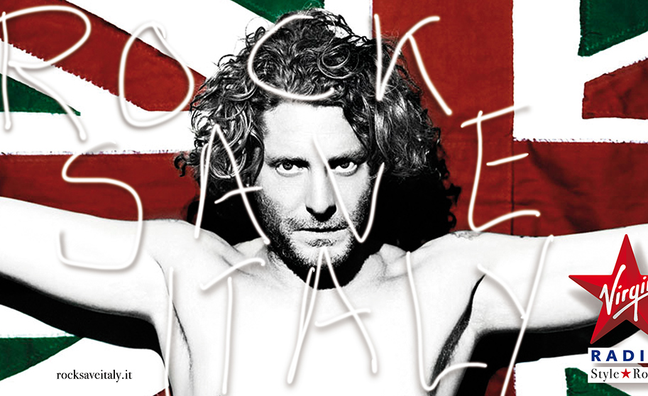 ROCK SAVE ITALY – VIRGIN RADIO – CAMPAIGN