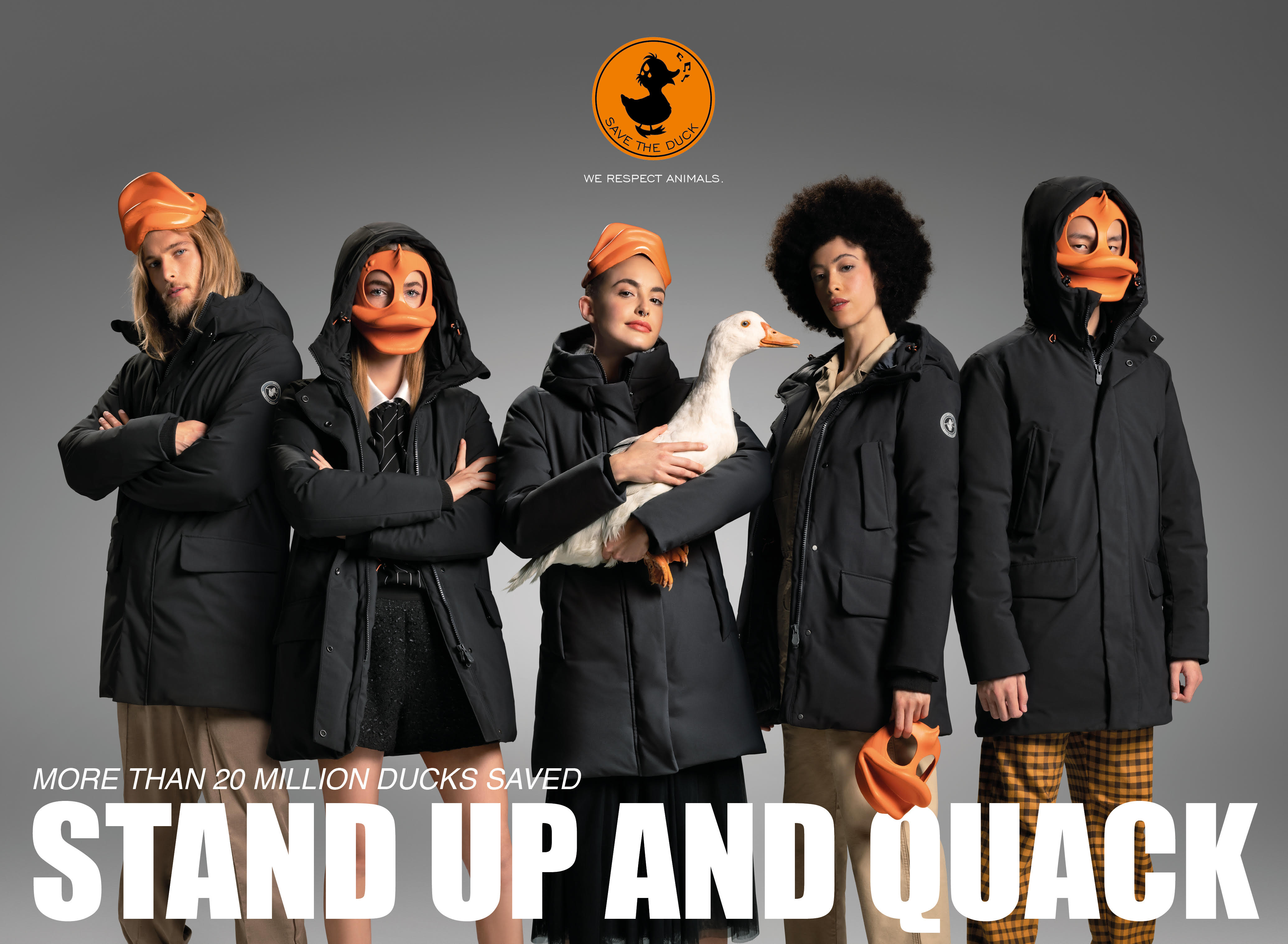 STAND UP AND QUACK – Save the duck
